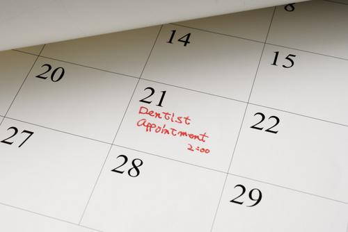 Dental Appointment Calendar